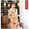 彩色 格子 韩版连衣裙