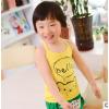 2014夏新款 韩版女童吊带 儿童女童精品莫代尔贴身打底吊带小熊款