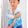 厂家直销中童防嗮衣服空调衫 男女童多色防紫外线绵绸衣童防嗮服