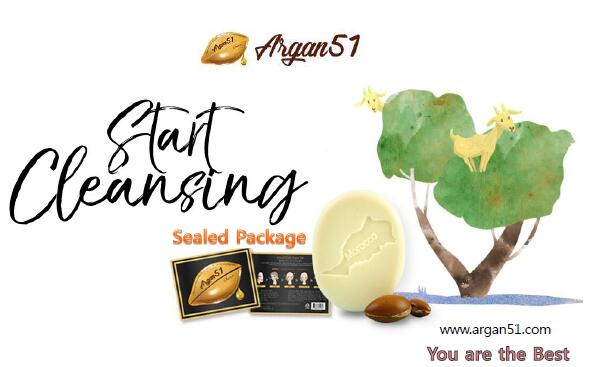 带来好运的香皂--韩国天然Argan51 Soap