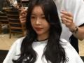 韩国发型##空气八字刘海