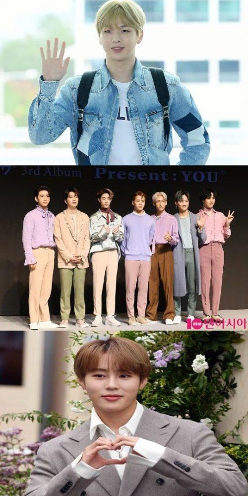 'Kpop Global Top Awards'姜丹尼尔目前排名第一,GOT7和河成云展开角逐